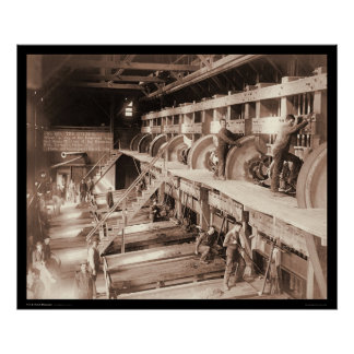 Deadwood Terra Gold Stamp Mill SD 1888 Poster
