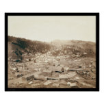 Deadwood View from McGovern Hill SD 1888 Poster