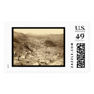 Deadwood Viewed from Engleside SD 1888 Postage