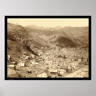 Deadwood vio de Engleside SD 1888 Poster