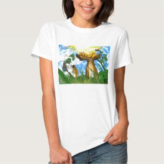 Deaf Birthrights (F) T-Shirt