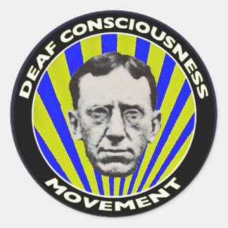 Deaf Consciousness Movement sticker