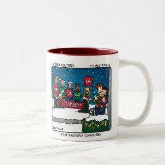 Deaf-Friendly Carolers Mug