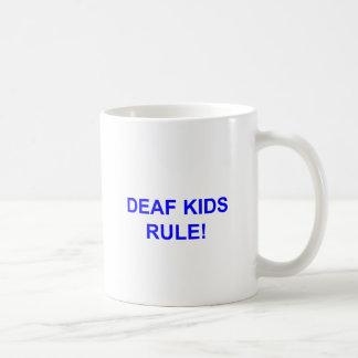 DEAF KID RULE COFFEE MUG
