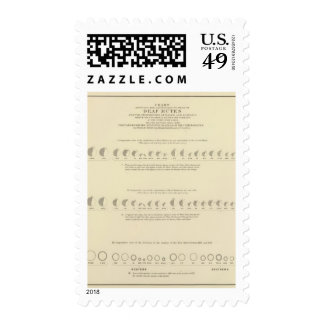 Deaf Mutes, Statistical US Lithograph 1870 Stamp