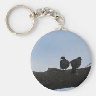 Deaf ones falls in love keychain