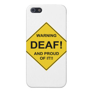Deaf Proud Cover For iPhone SE/5/5s