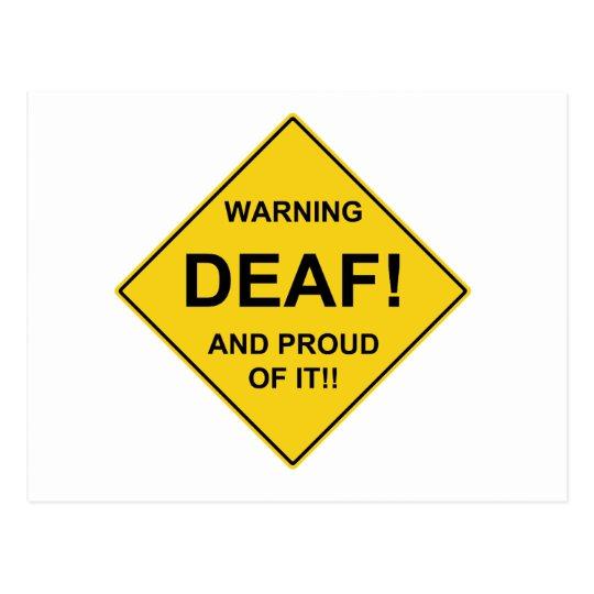 Deaf Proud Postcard