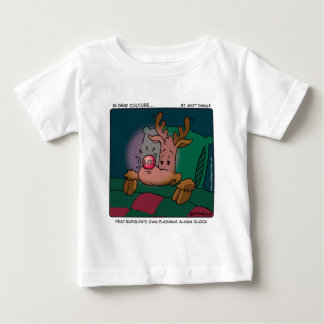 Deaf Rudolph Baby T-Shirt