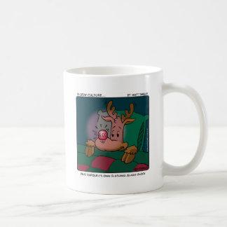 Deaf Rudolph Coffee Mug