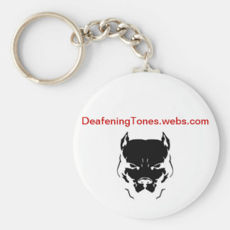 deafening tones key chains