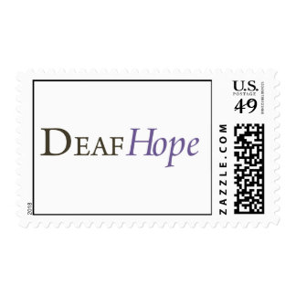 DeafHope Postage Stamps