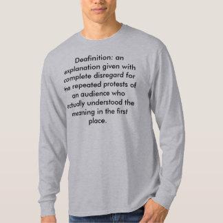 Deafinition T-Shirt