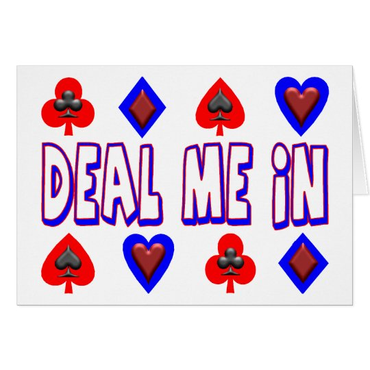 Deal Me In Card