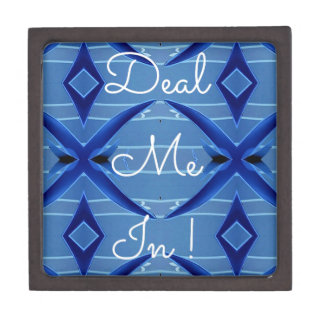 Deal Me In Hillary Supporters Political Campaign Gift Box