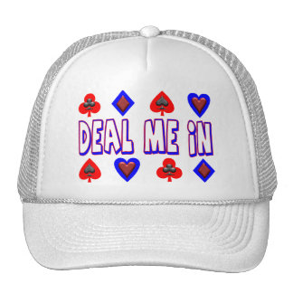 Deal Me In Playing Cards Trucker Hat