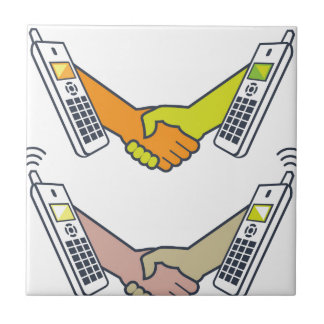 Deal over the Phone Ceramic Tile