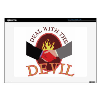 Deal With Devil Skin For Laptop