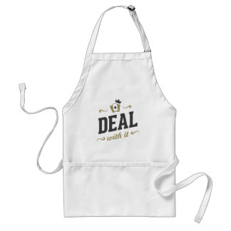 Deal With It Adult Apron