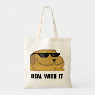 Deal With It Budget Tote Bag