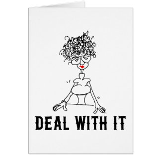 Deal With It! Card