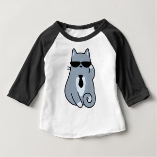 Deal With It Cat Baby T-Shirt
