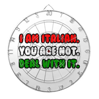 Deal With It ... Funny Italian Dartboards