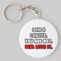 Deal With It ... Funny Lawyer Keychains