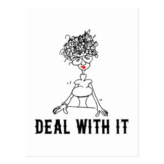 Deal With It! Postcard