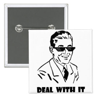Deal With It Retro Button