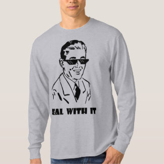 Deal With It Retro T-Shirt