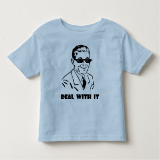 Deal With It Retro Toddler T-shirt