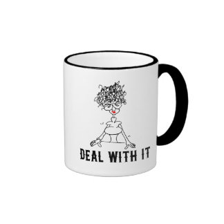 Deal With It! Ringer Mug