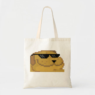 Deal With it Smugdog Budget Tote Bag