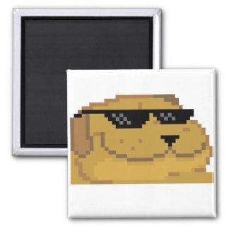 Deal With it Smugdog Fridge Magnets