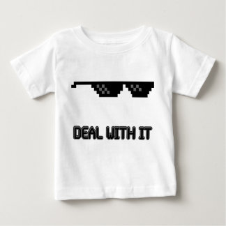 Deal With It Sunglasses Baby T-Shirt