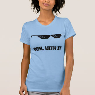Deal With It Sunglasses T-Shirt