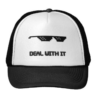Deal With It Sunglasses Trucker Hat