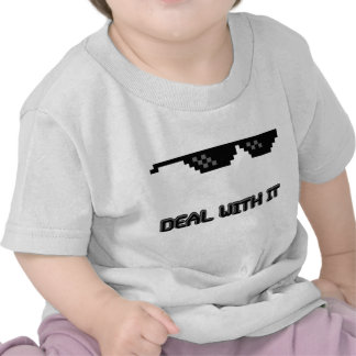 Deal With It Sunglasses Tee Shirt
