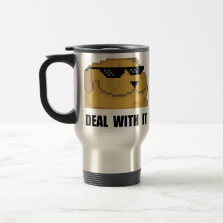 Deal With It Travel Mug