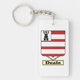 Deale Family Crest Keychain