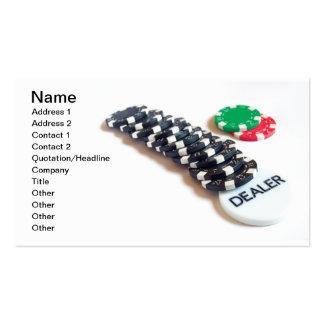 Dealer Business Card Template