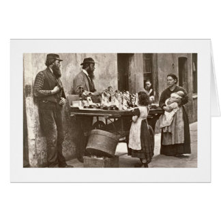 Dealer in Fancy Ware, 1876-77 (woodburytype) Card