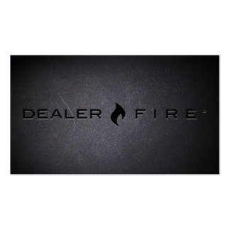 DealerFire Black Out Business Card