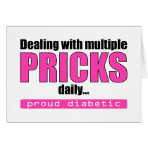 Dealing with Multiple Pricks Daily (Pink)