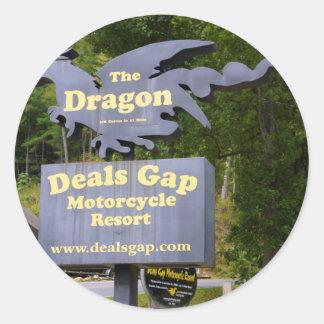Deals Gap Classic Round Sticker