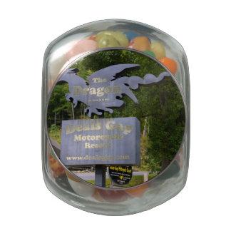 Deals Gap Glass Candy Jar