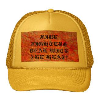 DEALS WITH THE HEAT TRUCKER HAT