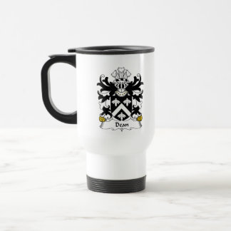 Dean Family Crest Coffee Mugs