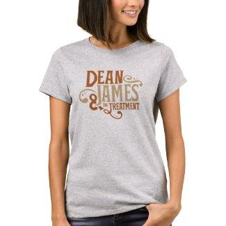 Dean James & The Treatment Grey Tee